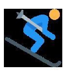 SKIING in uttarakhand, skiing in auli
